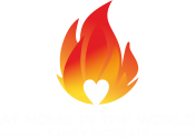 At Home In The World Logo
